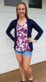 Stitch Fix item: Floral top