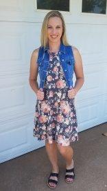 Stitch Fix item: Floral dress